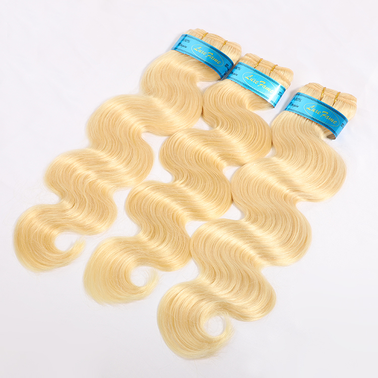 Wholesale Remy Raw Indian Hair Blonde,Blonde Bundle 613 Color Weave Human Hair,Dark Root Honey Blonde Hair Bundle
