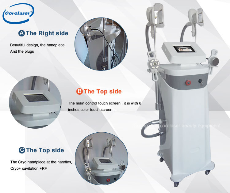 2020 Newest Fat reduce crio-therapy machines with CE approved /Cryo Fat Loss Slimming