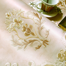 Elegant Yarn Textile Wallpaper Embroidery Seamless Wallpaper Outside Wall Covering