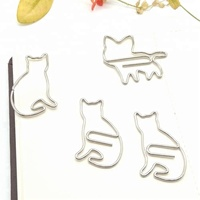 Creative Cat Rabbit Shape Giant Paper Clip With Good Quality