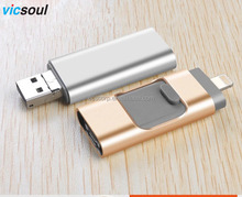Wholesale OEM Usb 3.0 Memory Pen Drive 32Gb Otg Usb Flash Drive For Ios And Android