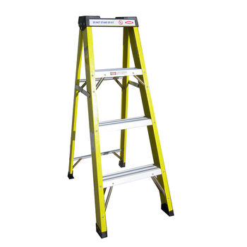 High Quality Extremely Durable A Shape Ladder With Tool Slots
