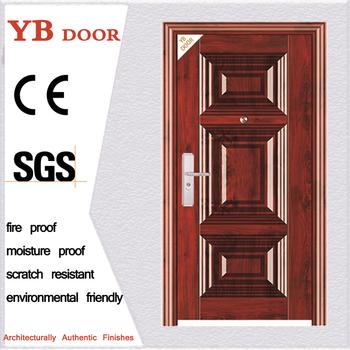 Alibaba Supplier Turkish Steel Wooden Door Armored Steel Security Doors  Modern Design Mother And Son Metal Door For Project - Buy Steel Door,Iron  Gate