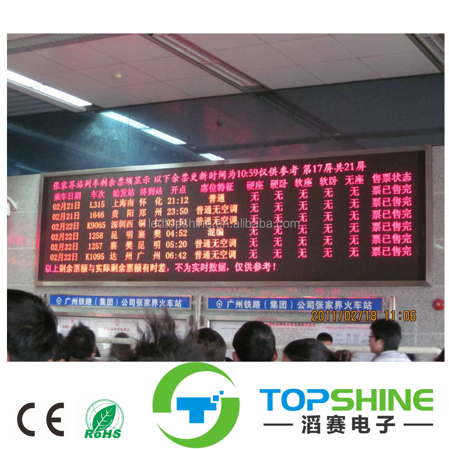 Ts Hot Productled Number Display Board P10 White Red Green Blue Circuit Waterproof China Flexible Led Strip Rigid Yellow Amber Pink Module Single Color Buy Coloroutdoor