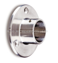 stainless steel handrail round base plate with cover welding flange