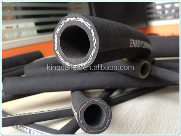 Cloth Cover Steel / Wire Braided Hydraulic High Pressure Rubber Hose