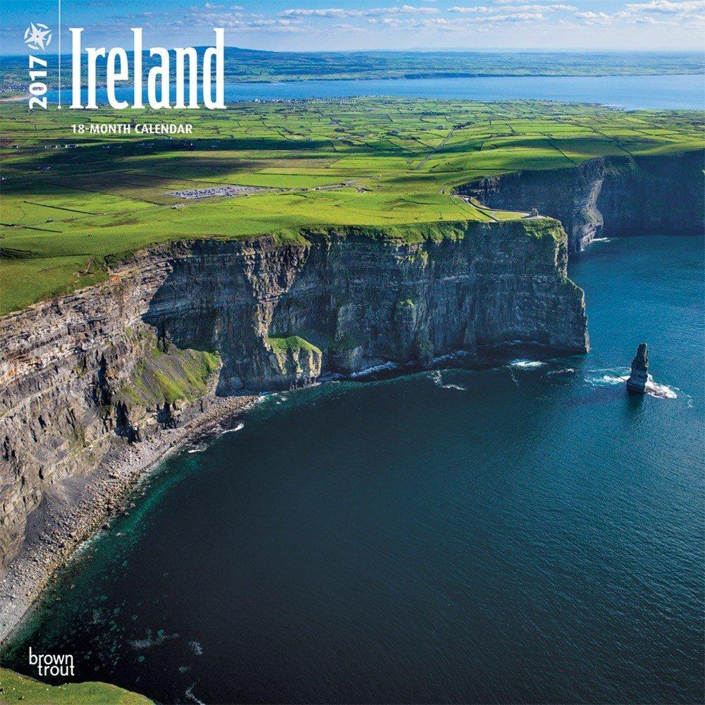 Ireland Wall Calendar 2017 {jg} Best Holiday Gift Ideas - Great for mom, dad, sister, brother, grandparents, , grandchildren, grandma, gay, lgbtq.