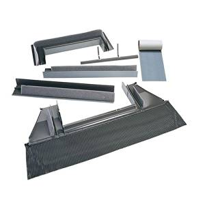 "Velux Ecw14460000c Curb High Profile Flashing Skylight, Aluminum, 6-1/4""L X 51-1/2""H X 23""D"