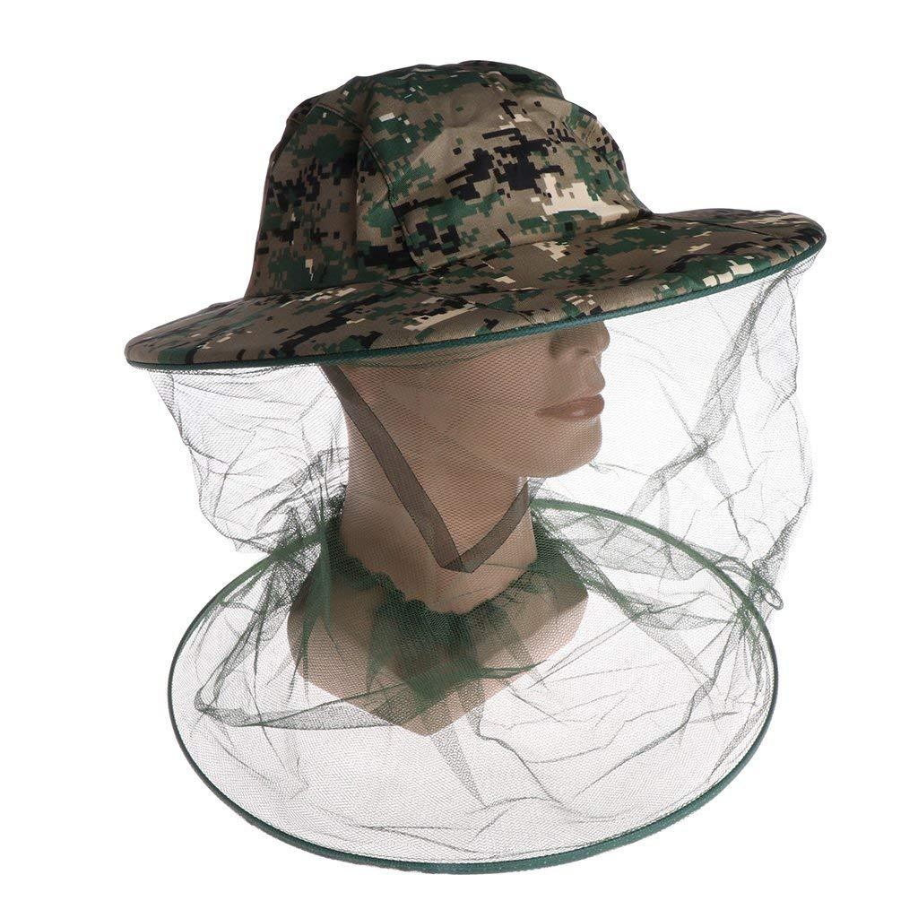 Garden Supplies Just Bee Hat Beekeeping Net Head Face Protector Cap Insect For Outdoor Fishing Hiking Sophisticated Technologies Home & Garden