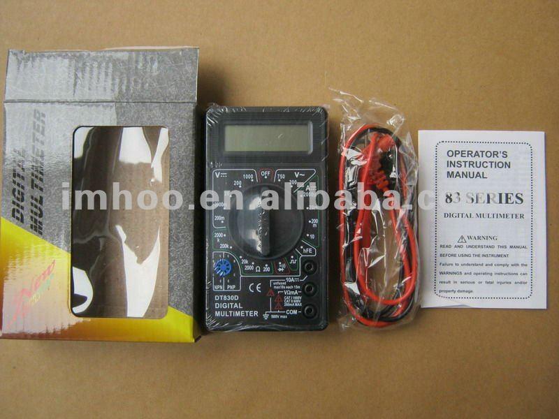 Popular Small Digital 832/830d Sanwa Analog Multimeter - Buy Sanwa Analog  Multimeter,Auto Range Multimeter,Best Multimeter Digital Product on