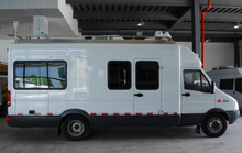 Communication command vehicle test van