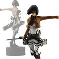 Trendy Japaness Anime High Quality Shingeki No Kyojin Mikasa Figure Attack on Titan Mikasa Ackerman PVC