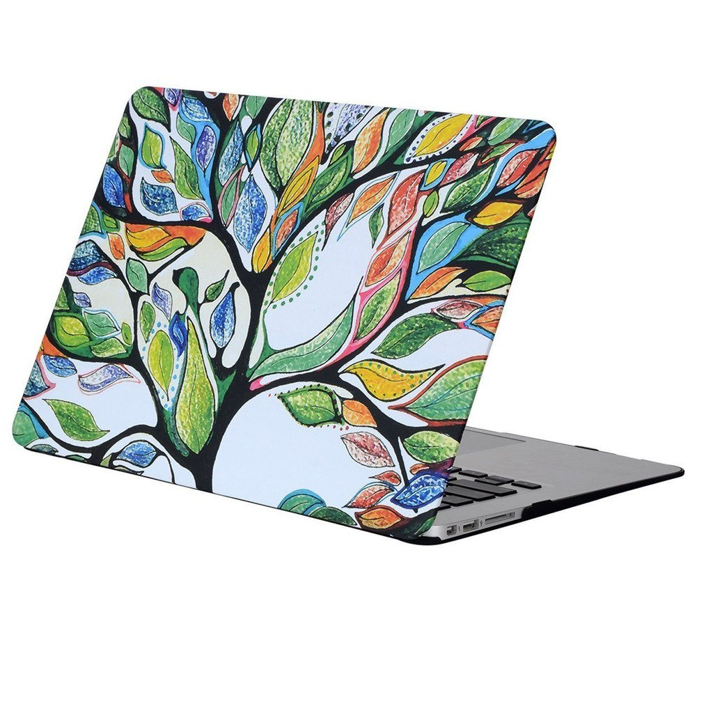Macbook Pro 13 Inch Life Tree Macbook Cover Case, IC ICLOVER Ultrathin Frosted Hard Snap On Folio Shell Painted Tree for Macbook Pro 13.3'' with CD/DVD Drive Model:A1278