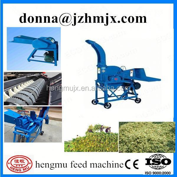 henan New condition and low energy consumption hay shredder for sale with CE approved