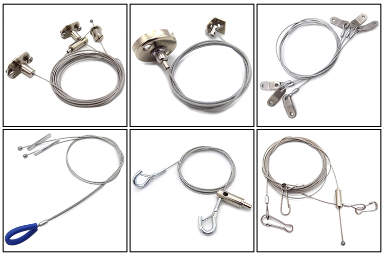 OEM Durable in use Wire Rope Fittings for  Hanging Cable Systems  Fittings