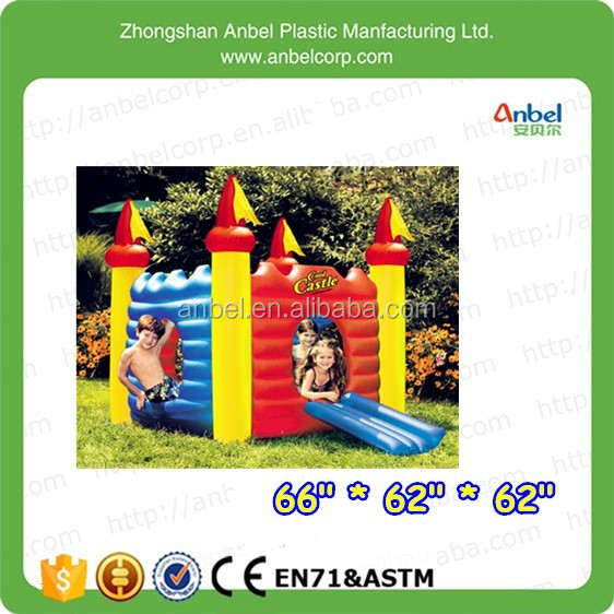 Funny Multifunction Kids Water Castle inflatable pool floating and playhouse with slide