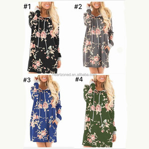 New Print Spring Dresses Ladies Floral Cardigans