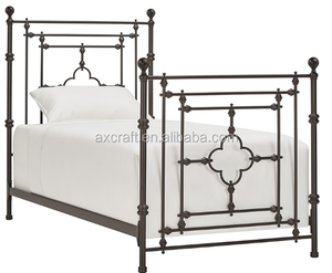 European modern minimalist Princess single Iron bed 1.2 1.5 meters