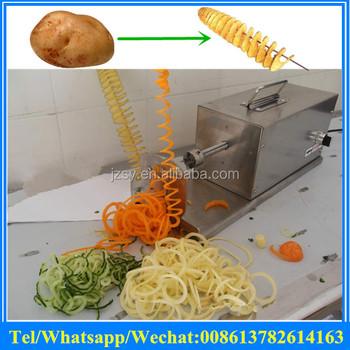 Hot Sale Electric Potato Cutting Machinetornado Twister Potato Cutting Machineelectric Spiral Cutter For Potato Buy Fresh Potato Cutter