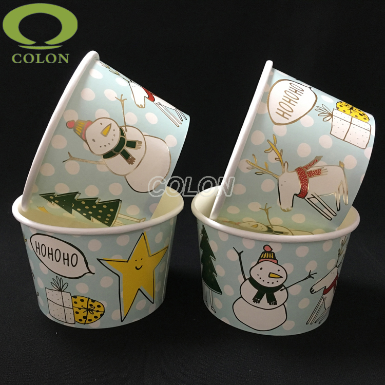 20oz disposable ice cream cups tubs packaging supplies