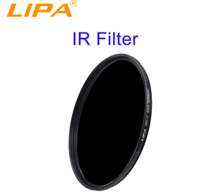 LIPA 72mm 590nm 680nm 720nm 760nm 850nm 950nm Infrared IR filter for DSLR camera lens filter Infrared filter