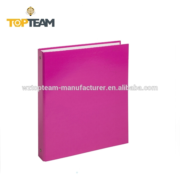 Wholesale office soft leather ring binder , pp lever arch file folder