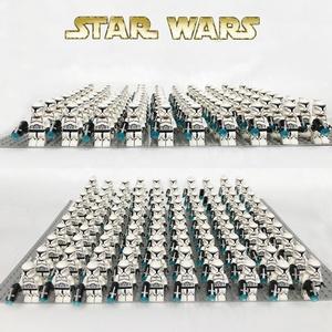 Star sw910 Wars White Clone trooper  Stormtrooper Compatible legoe Battle Pack Building Blocks kid mini figures  toy