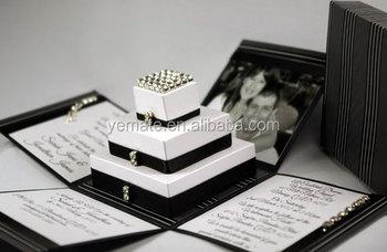 Paper Handmade Wedding Invitation Card Box Latest Designs 30 In