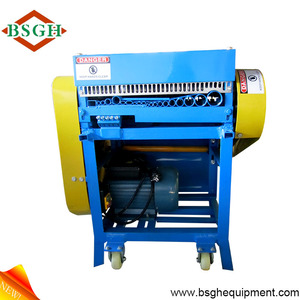 super quality and provide CE wasted copper wire cutting /stripping /peeling recycling machine made in china