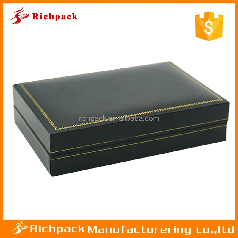 New design antique wood paper jewelry packaging box for man
