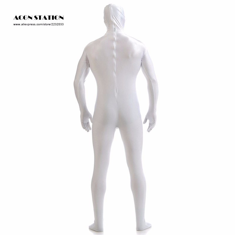 734729f79c6 Wholesale-Ainclu 2016 White Lycra Spandex Zentai Suit for Men Green ...