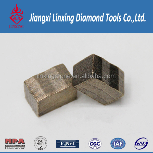 Diamond grinding segment cutting tool for core drill bit to indonesia