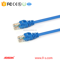 Cat5e Ethernet Patch Cable 100 feet RJ45 Computer Networking Cord - Blue