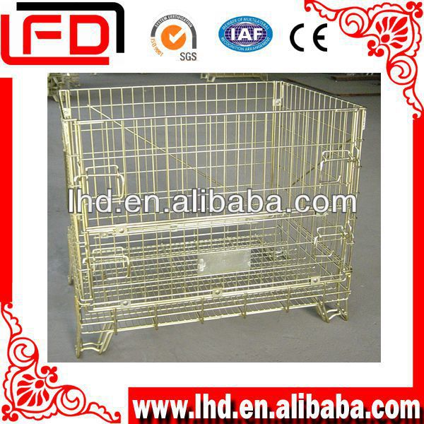 american type wire mesh box container