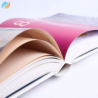 Custom Color Offset Printing Design Service Catalogue Booklet Brochure Magazine Book