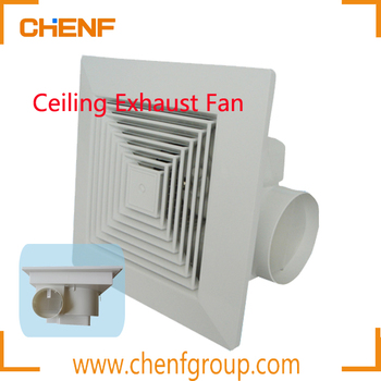 High Quality Small300 300mm Bathroom Bedroom Living Room Ceiling Mounted Exhaust Fan