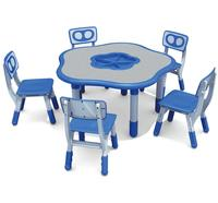 China Top Quality Educational Plastic Tables for Kindergarten, Preschool