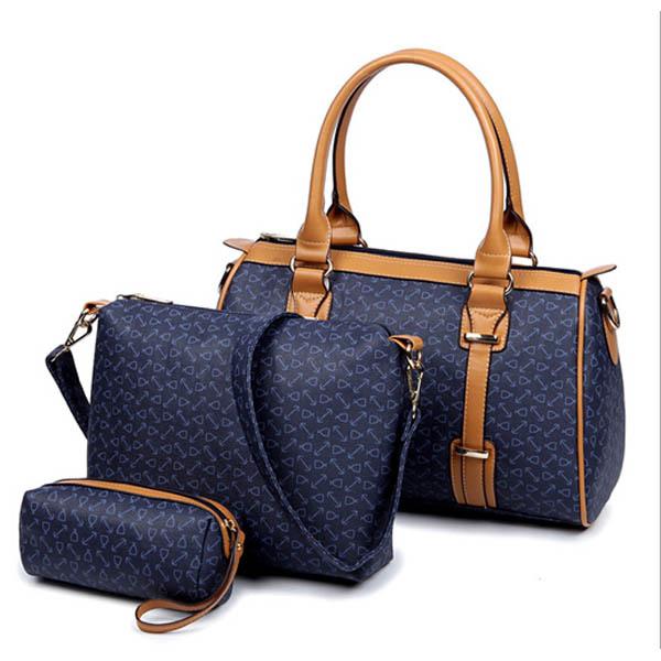 New Brand Women Handbags Leather Handbag Messenger Bags Designs Bag Purse 3 Sets In Price On M Alibaba