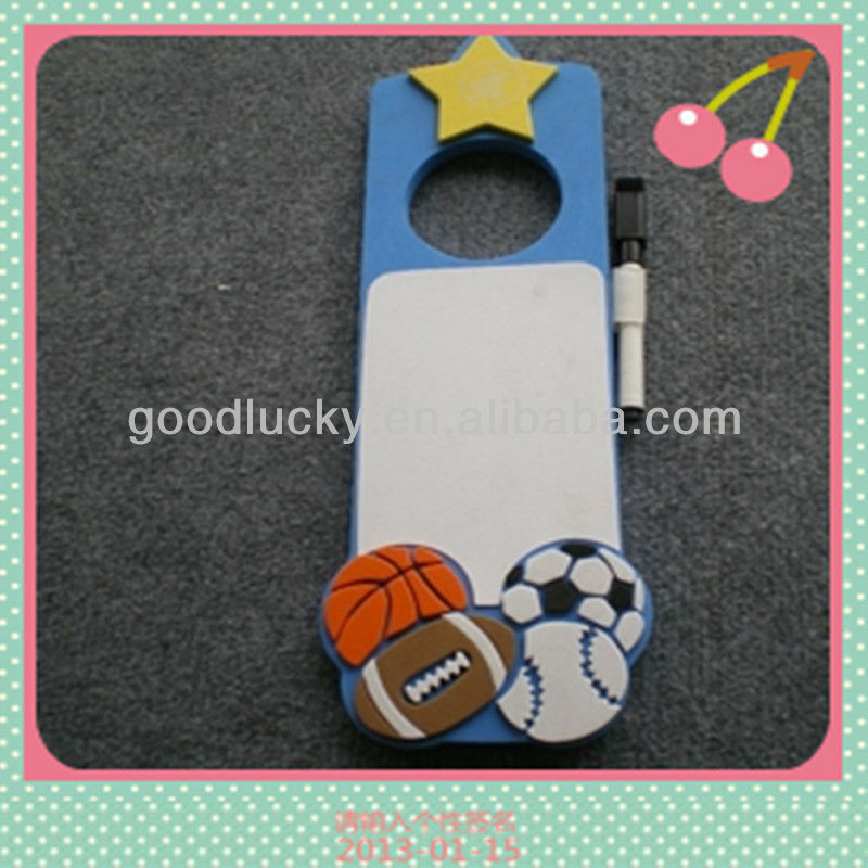 Low price promotion gift EVA door hanger/door hanger