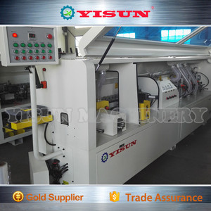 Hot sale Automatic edge banding machine/CE/Pre-milling/Gluing/ End trimming/Rough trimming/ Fine trimming/ Scrapping/