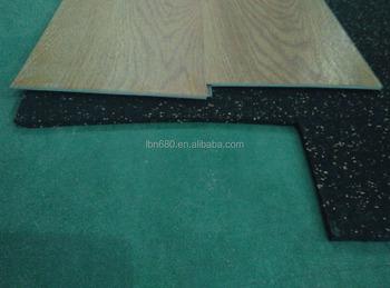 Ontworpen houten vloeren mm bamboe laminaat onderlaag matten