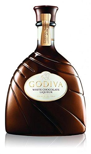 Godiva Godiva White Choc Liq, 750Ml, 30 Proof, 750 ml