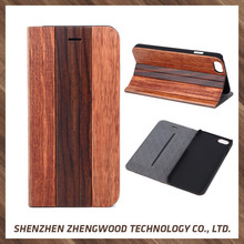 Factory supplier wooden leather flip cover phone case wood laptop back cover for iphone 5s/6s/6plus/7s/7plus