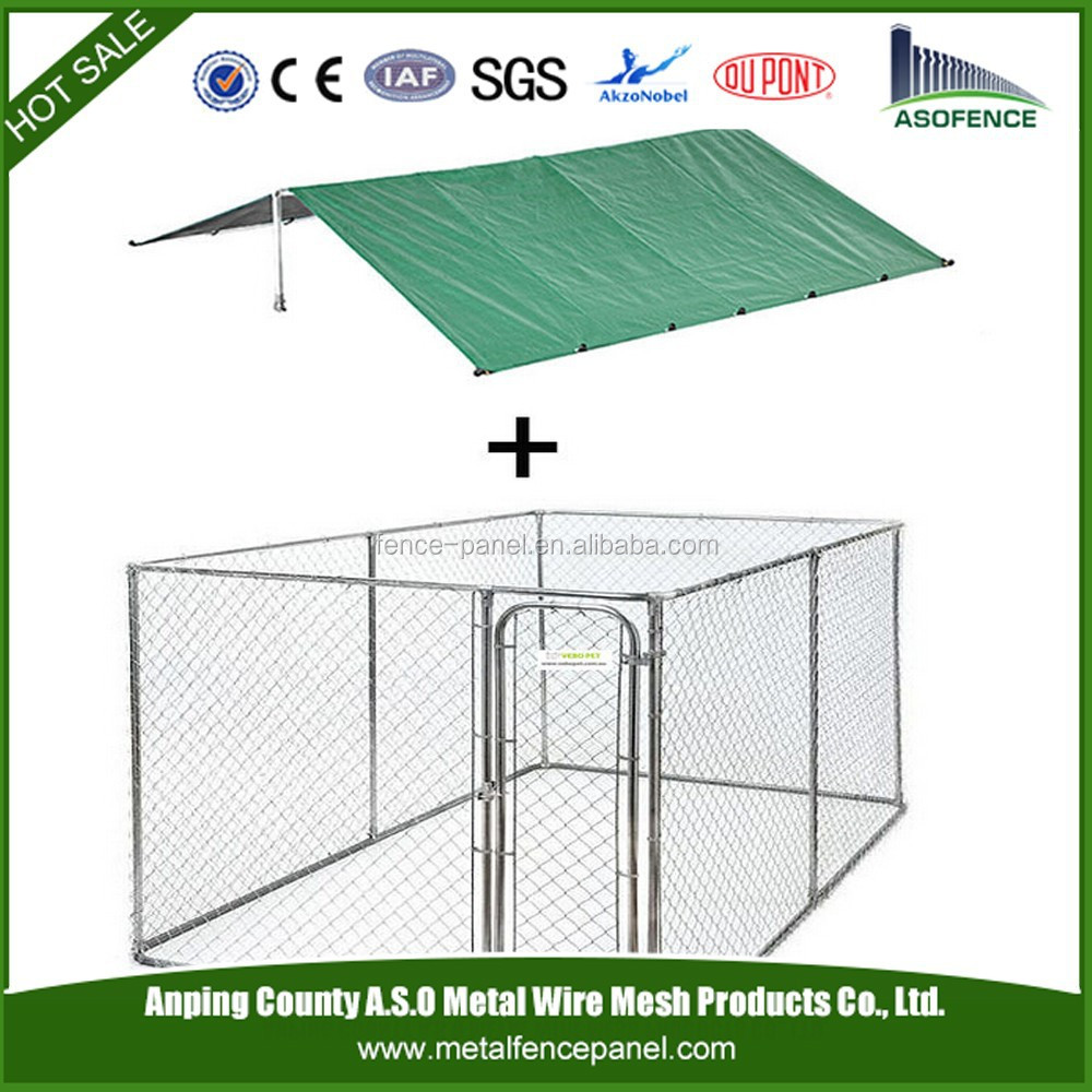 China wholesale collapsible dog kennel / dog kennel buildings / waterproof dog kennel