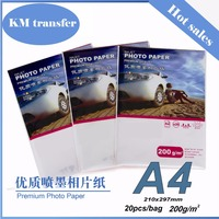 Professional inkjet glossy/matte cast coated/RC cheap glossy photo paper
