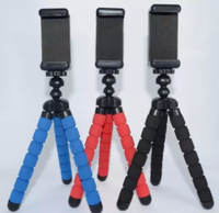 Customized portable mini flexible tripod for digital camera mini tripod stand flexible