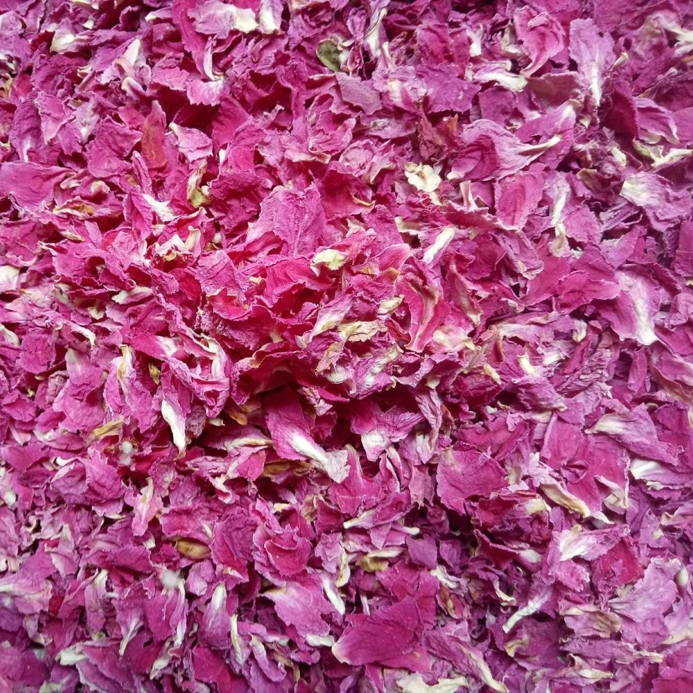 Bulk supply Scented tea dried Herbaceous peony flower petals red color new and clean - 4uTea | 4uTea.com
