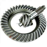 Custom high precision steel crown wheel and pinion gear bevel gear Dongguan Manufacturer
