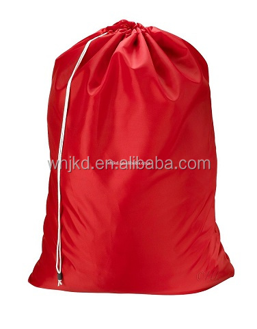 Large nylon folding laundry bag hotel laundry bag for washing machine