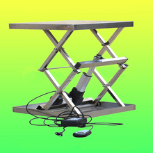 Mini Home Stationary Scissor Lift for Coffee Machinery